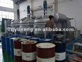 La serie ynzsy aceite usado de motor de tratamiento/motor de residuos de destilación del aceite de la máquina de aceite negro a color amarillo