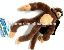 Flying monkey, slingshot flying animal with screaming