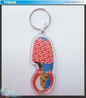clear plastic acrylic custom key chains