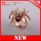 Spider finger ring , halloween finger ring,gold finger ring