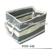 Paper straw storage baskets