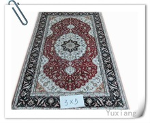 3X5 carpet tile with persian style silk