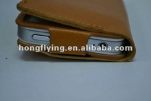 2012 new arrival!!!equisite workmanship for top leather mobile phone case for USA brand mobile phone