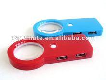 Newest magnifier 4 port usb hub