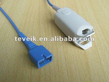 8000AA Nonin Spo2 Sensor Adult Finger Clip DB 7pin 10ft
