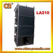 "10"" passive line array speaker sound system"