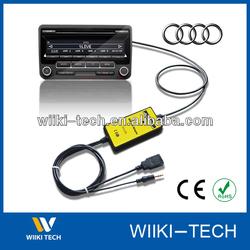 Car MP3 Player(USB AUX Mp3 Adapter) For Audi VW Skoda Toyota Mazda Honda Nissan.