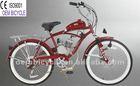 26 pulgadas motor de 50 cc de gas del motor moto chopper