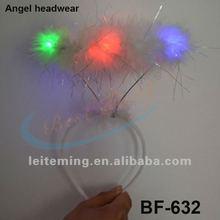 flashing LED Angel Halo Headband headwear hairclip