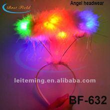 LED Angel Halo Headband Multicolor headwear hairclip