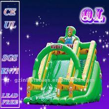 2012 (Qi Ling) lovely inflatable bear slide