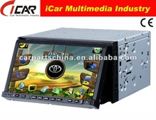 NEW/HOT Double Din 7'' touch screen,GPS, Bluetooth, TV, PIP, IPod, 3D UI Car DVD