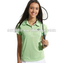 2012 Women's lady clothing tenise Plain Polo T Shirt,Print T-Shirt,Fashion T-Shirt