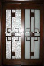 Wooden Partition Sliding Doors Design DJ-S411