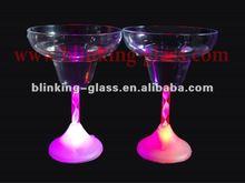 led light champagne glass