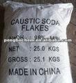 Matérias-primas para a produção de sabão de soda cáustica sólida 99%, 96%