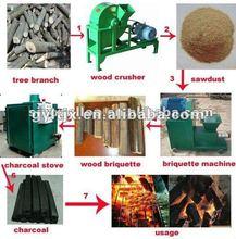 World Leading BBQ/Coconut/Wood Charcoal Briquette press machine