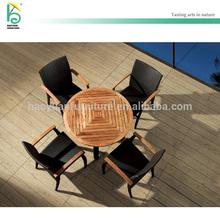 Teak wood table plus deck furniture