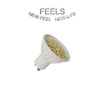 2.5W GU10 24SMD led spot light frame