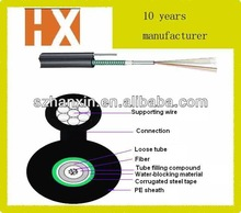 self-supporting aerial installation fiber optic cables GYXTC8S figure 8 cable
