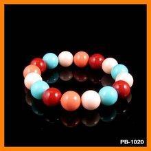 Candy Pearl Jewelry Charm Bracelet PB-1020