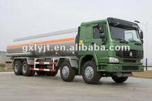 Sinotruk 8*4 howo 28 CBM Chemical liquid tank truck