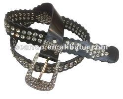 Western rhinestone Lady's Belt