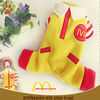 yellow pet clothes dog garments