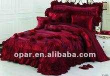 Plush bed set