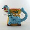 3d animales de dibujos animados café taza- ovejas