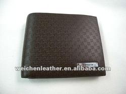 Durable thin pu mens wallet with USB card slots baiyun leather