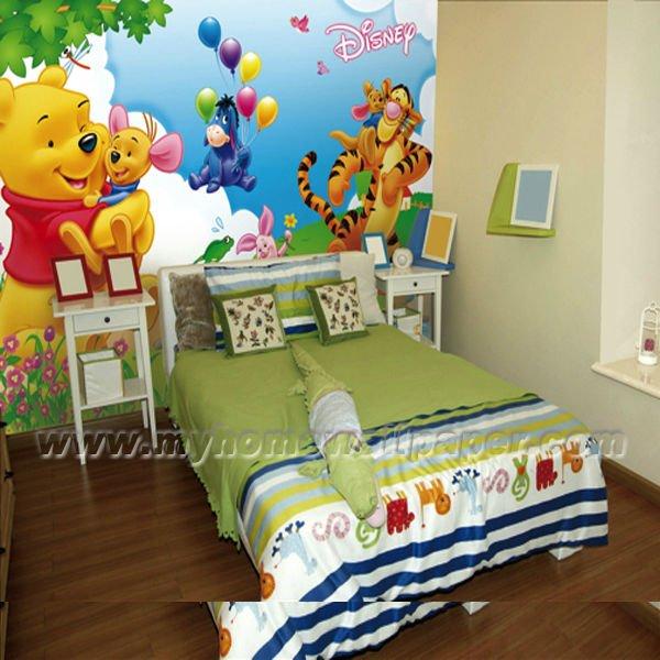 De dibujos animados de animales murales de pared para los - Dibujos para habitaciones de bebes ...
