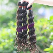 Long kept full cuticle untouched wavy brazilian hair