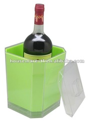 Wine cooler(5L) made of PS plastic wine cooler