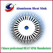 Aluminum sunflower type radial heatsink