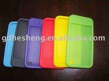 bear shape silicone mobile phone case