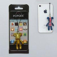 plastic golden Headphone dust plug