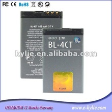 Replacement for Nokia BL-4CT long time battery dual sim card mobile phone