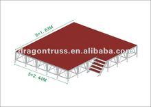 4x8feet indoor concert stage equipment