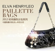 2012 fashion sequins new style lady bag,summer style women handbag