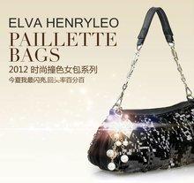 2012 fashion sequins new style lady bag,summer style women handbag