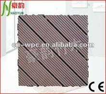H-T002 wpc deck tiles