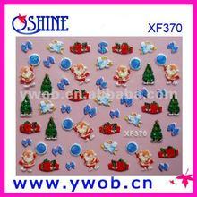 Christmas Tree design nail art/3D nail art sticker