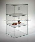 Acrylic Display Cases Acrylic display showcase box Acrylic Display Case with Hinged Door and Hasp