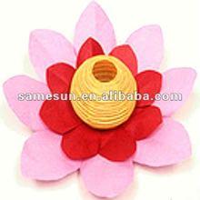 Biodegradable pink lotus floating water lantern