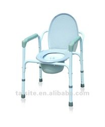 Medical device shower commode chair for disabled 5724