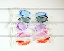 2015 New Adult silicone swim goggle