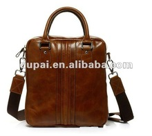 2013 top grade oil leather mens executive briefcase