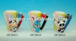 3D carton figurine mug for Children