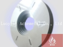 99.95% high density tungsten crucible cover for sapphire crystal growth furnace